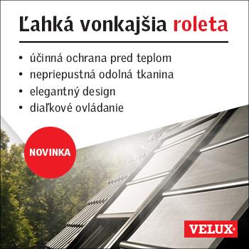 Nová Ľahká vonkajšia roleta na solárny pohon